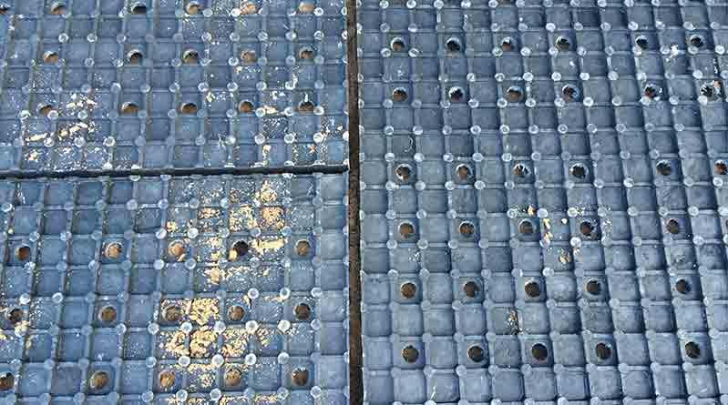 dalle-heavy-drain Curage mécanisé d'une écurie active: mode d'emploi